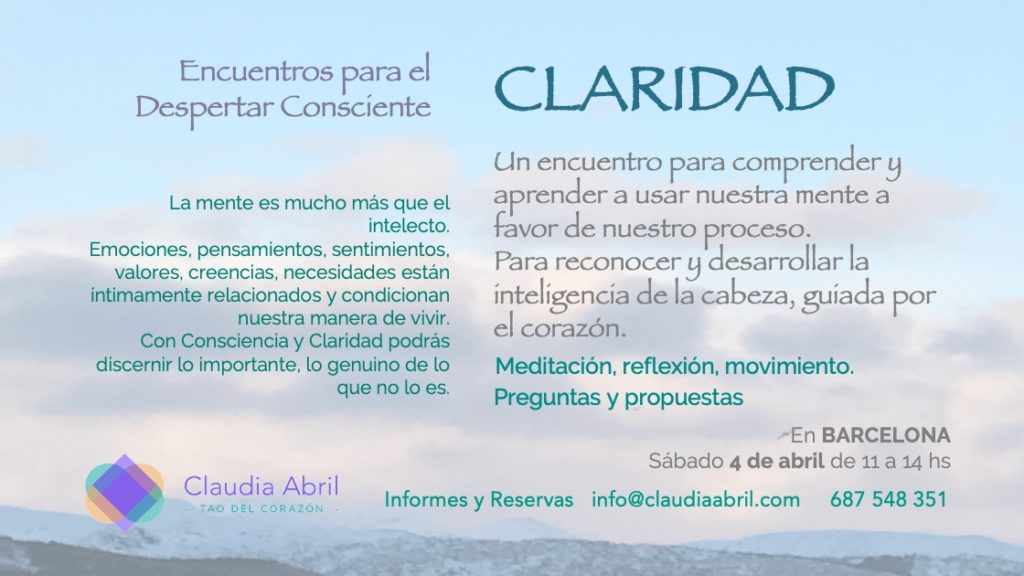 Claridad EDC 3 Flyer
